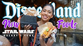 NEW Tasty Foods You Must Try At Galaxy's Edge in Disneyland!