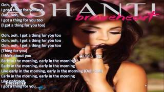 Ashanti ft French Montana   Early In The Morning LYRICS