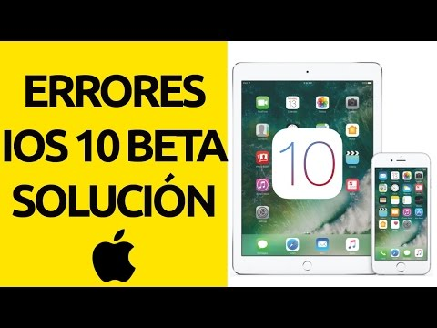 Error al actualizar el software iOS 10 beta pública iPhone iPad - Solución
