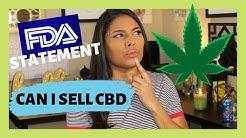 The FDA and CBD   Selling CBD Legal? (2019)