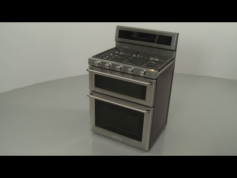 KitchenAid Double Oven Gas Range Disassembly - Model #KFGD500ESS04