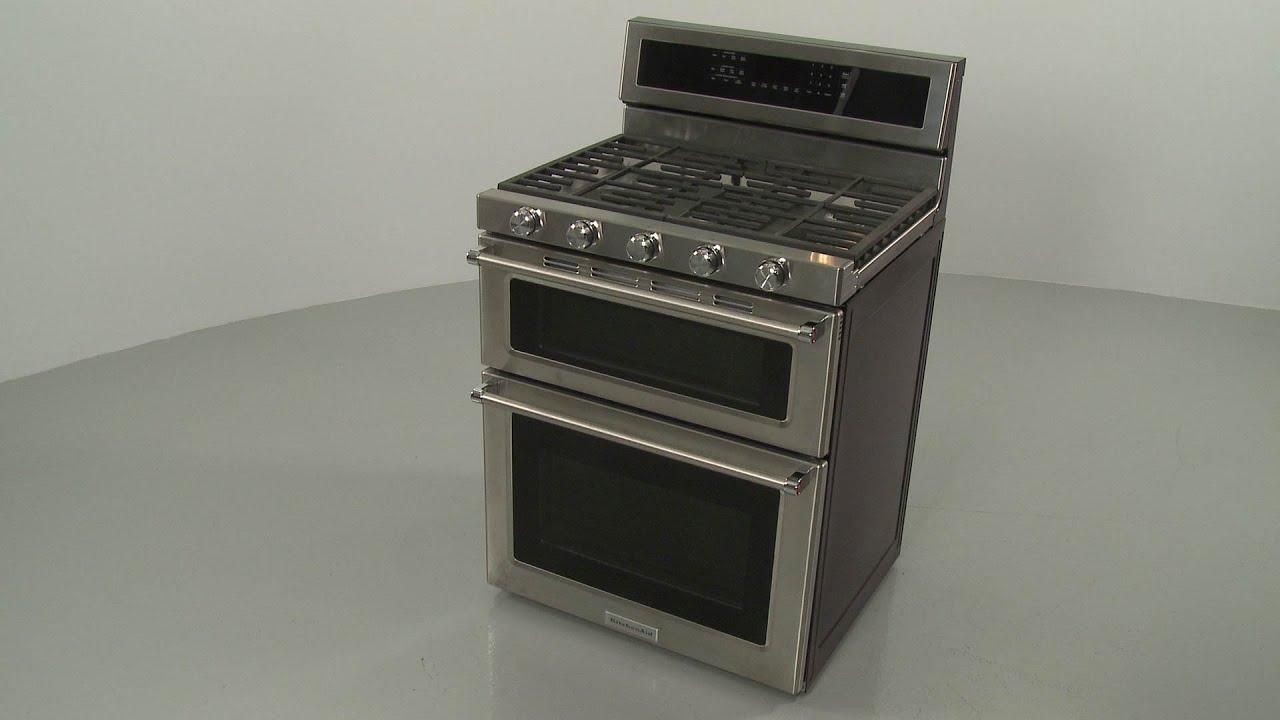 KitchenAid Double Oven Gas Range Disassembly – Model #KFGD500ESS04