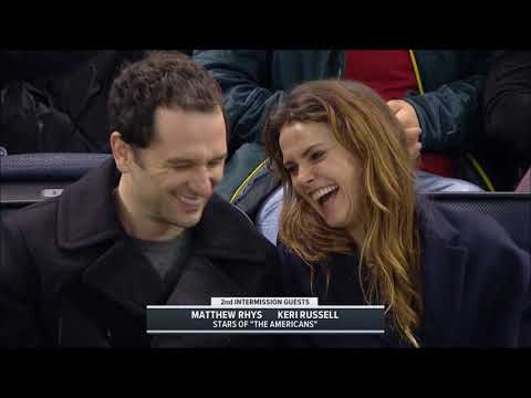 Keri Russell and Matthew Rhys Attend NY Rangers Game- Feb 25th 2018 streaming vf