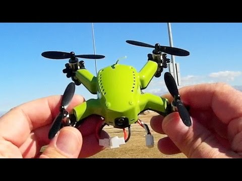 Eachine Flyingfrog Q90 Micro FPV Racer New PIDs Test Review