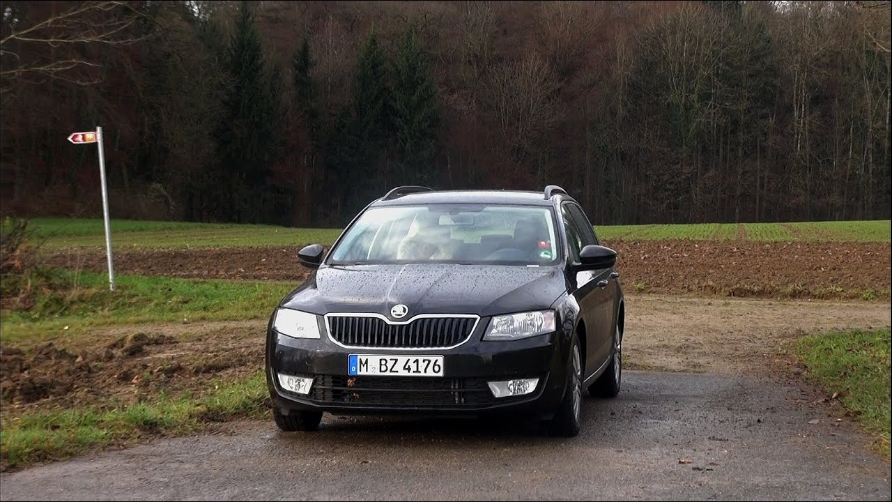 2014 skoda octavia combi 2 0 tdi 150 hp test drive youtube. Black Bedroom Furniture Sets. Home Design Ideas
