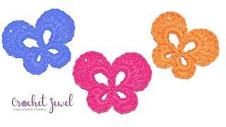 Crochet Butterfly Tutorial - Crochet Jewel