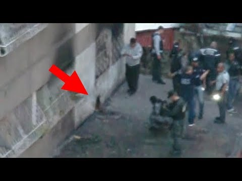 Atentado falso contra Nicolas Maduro según vecino/testigo