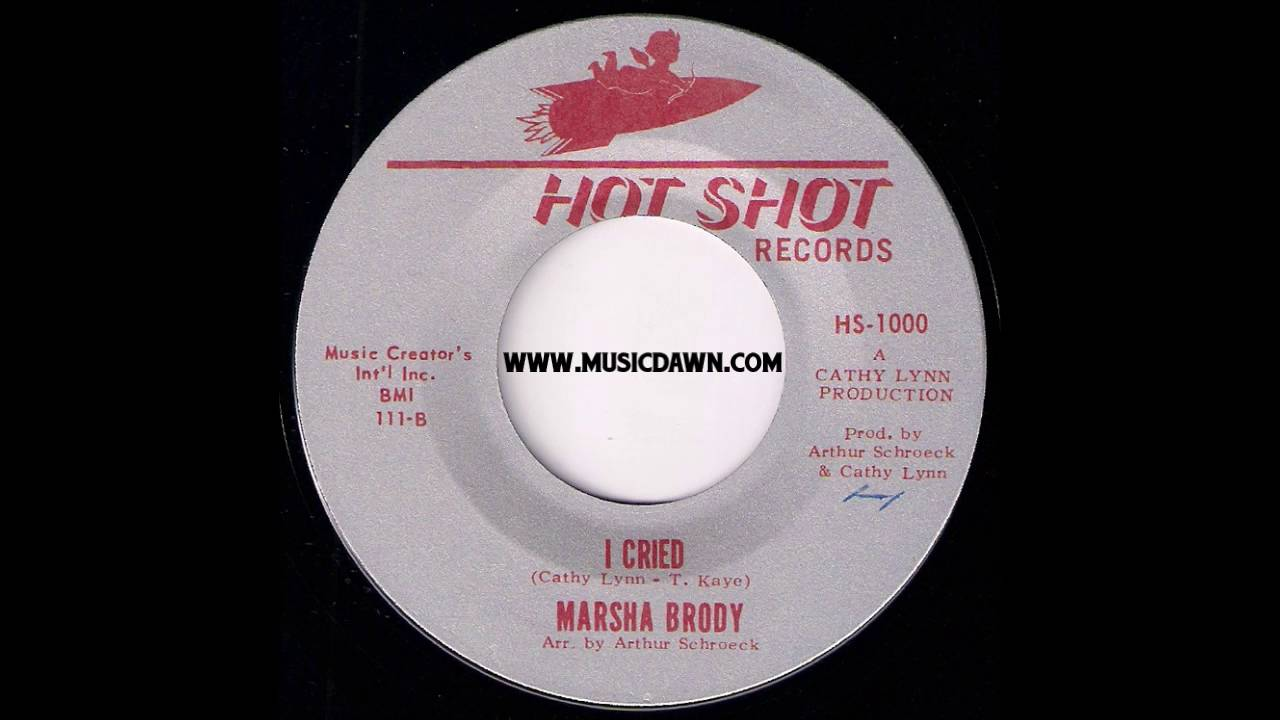marsha brody - i cried [hot shot records] 1966 girl oldies 45 - youtube