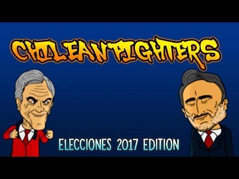 CHILEAN FIGHTERS: GUILLER Vs PIÑERA (Videojuego creado en Construct 2)