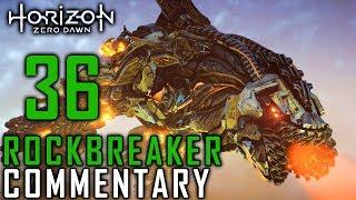 Horizon Zero Dawn Walkthrough - Part 36 - Rockbreaker Battle (Blood On Stone Quest) & Finding Olin