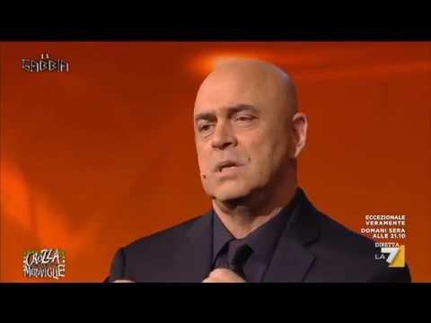 """CROZZA ed il TTIP  -  """"LaGabbia"""" su La7 - 18/05/2016"""