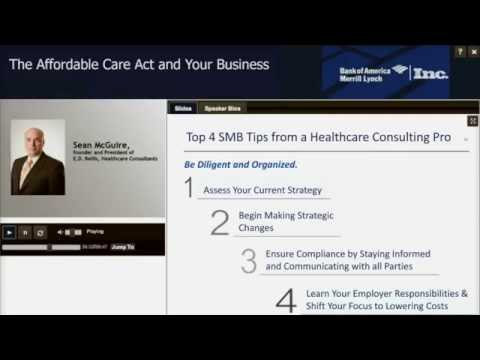 Top 4 SMB Tips from a Healthcare Consulting Pro
