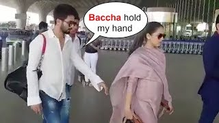 Shahid Kapoor Holding Pregnant Mira Rajput's Hand is Sweetest Thing Ever