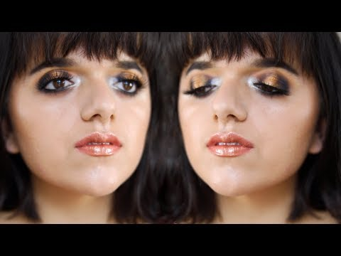 MIXING METALS⎢Silver n' Gold Makeup