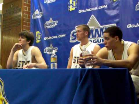 Clint Sargent, Kai Williams, Mark Engen Postgame Presser