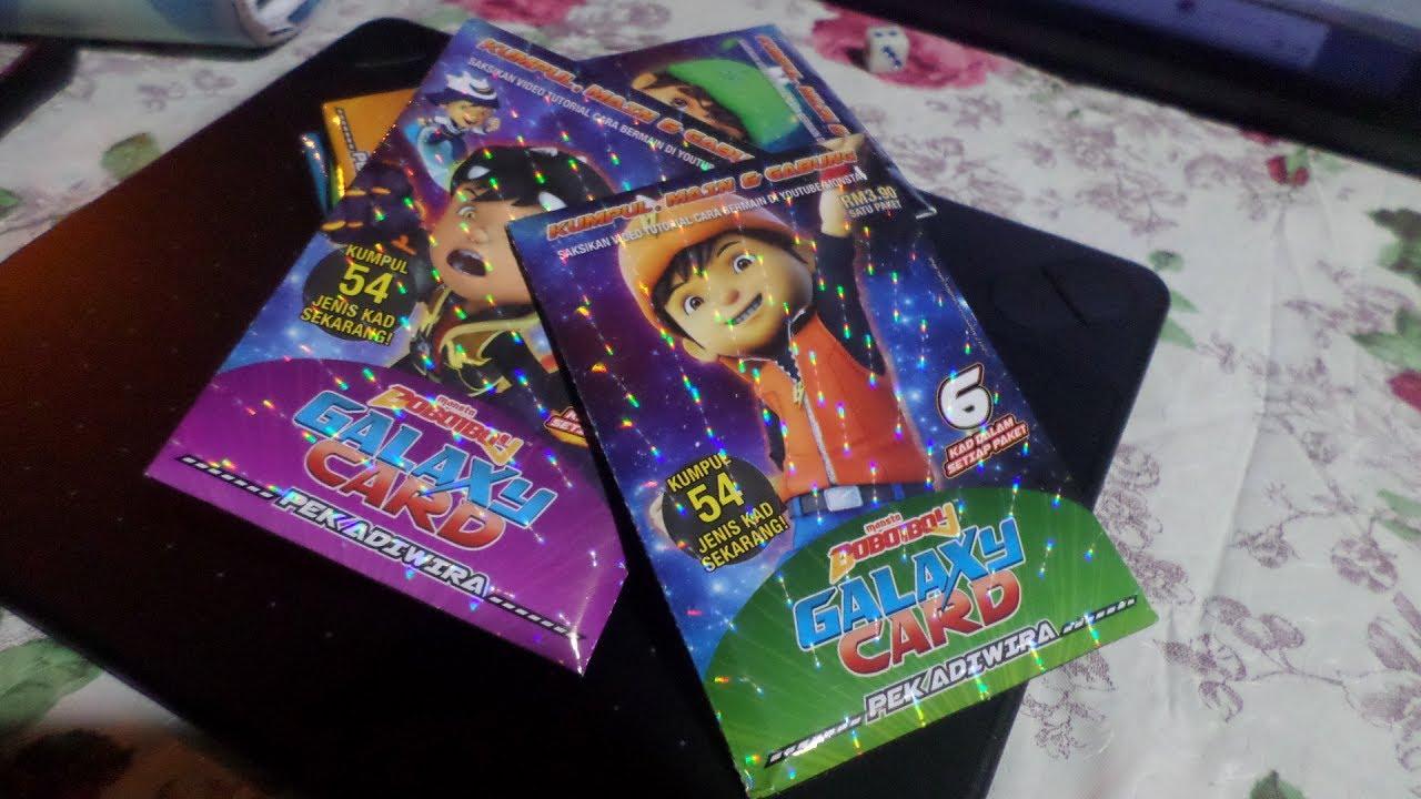 Boboiboy Galaxy Card Game Tutorial Youtube