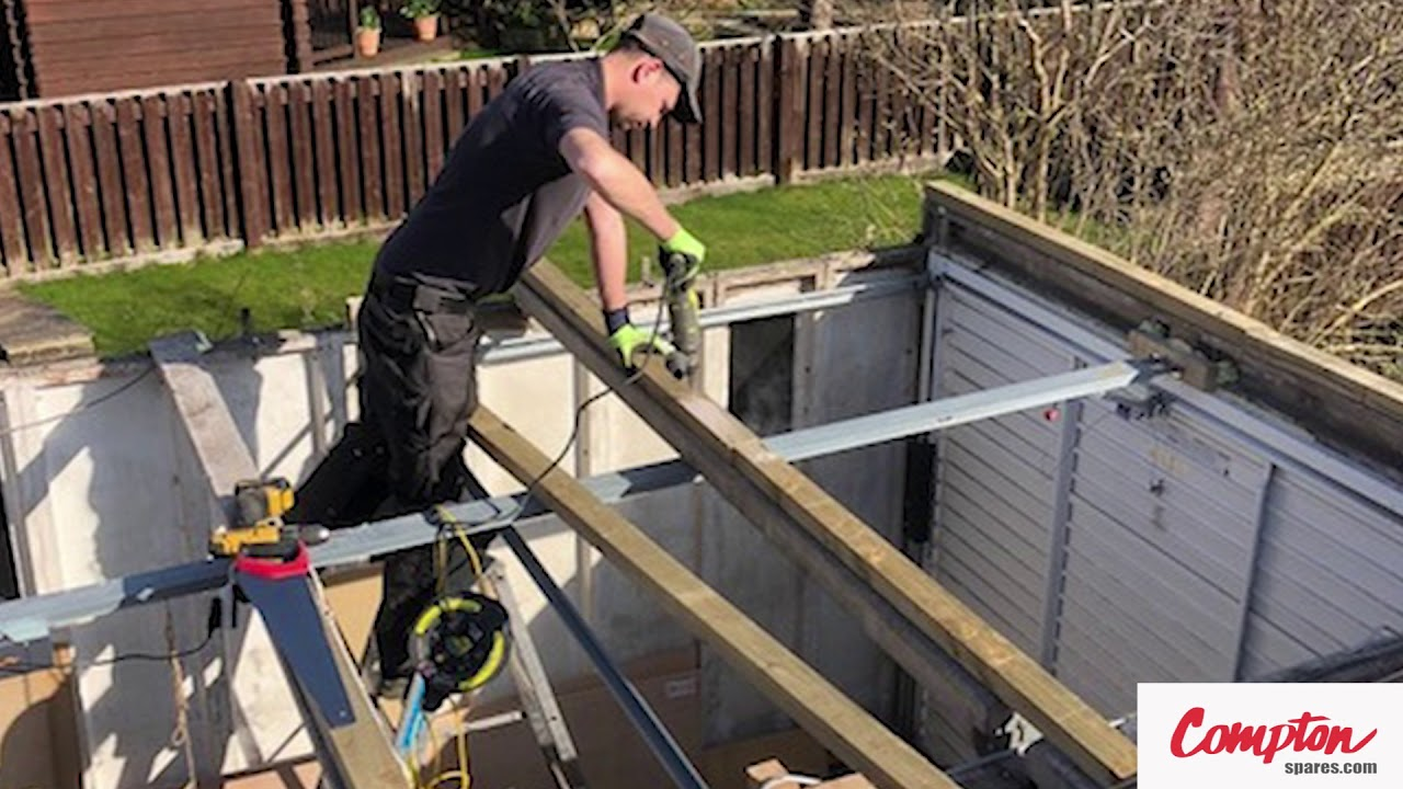 Compton Spares Com Pent Re Roof Replacement Garage Roof Garage Revamp Youtube