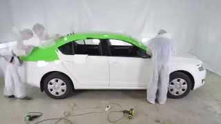 Брендирование автомобиля ТаксовичкоФ(Рекламный холдинг GRANAT предлагает широкий спектр услуг по брендированию и художественному оформлению тран..., 2015-10-27T13:03:38.000Z)