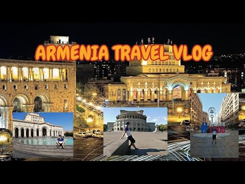 Walking Through The Streets Of Yerevan, Capital Of Armenia SUMMER TOUR 2019