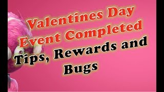 Fortnite Valentines Day Event Completed; Rewards, Tips and Bugs