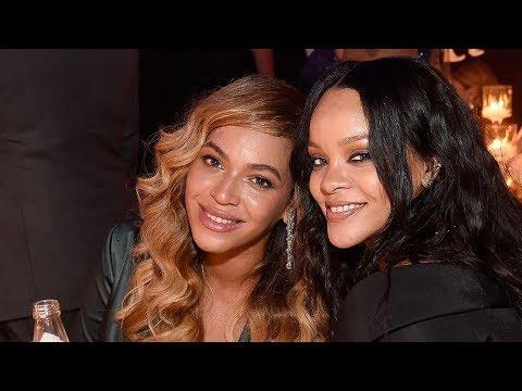 Beyonce & Rihanna REUNITE At Diamond Ball & Internet Is Living For It