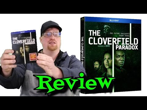 The Cloverfield Paradox Blu Ray Unboxing and Review - Drama - Horror - Mystery