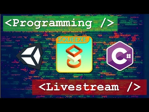 Making an In-Game Store! - Coding Stream - Squeeze App - Unity3D Android Game Development