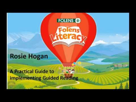 How To Introduce Effective GUIDED READING In Your Classroom - Folens Literacy Webinars 2020
