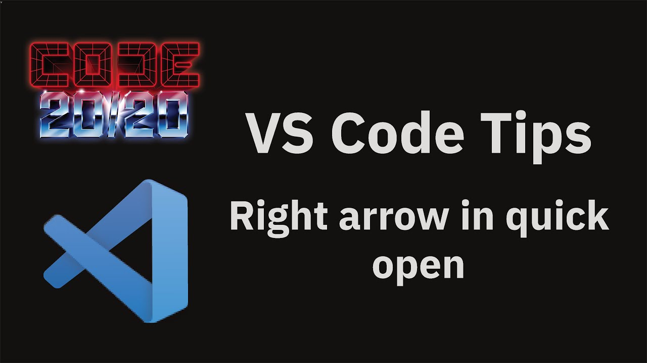 Right arrow in quick open