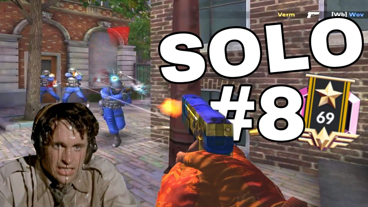 I go FULL TRYHARD to win   Critical Ops masters ranked   SoloElite #8