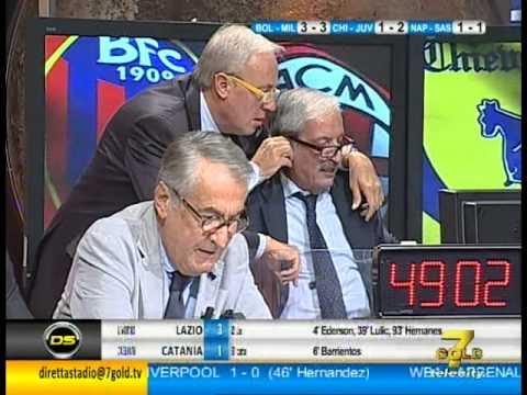 Bologna-Milan 3-3 commento Tiziano Crudeli Direttastadio ...
