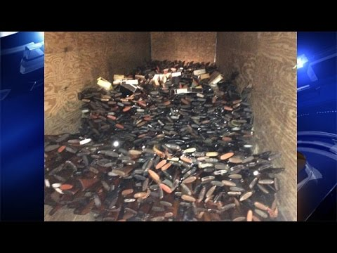 Man Arrested After Nearly 10 000 Stolen Guns Found In His