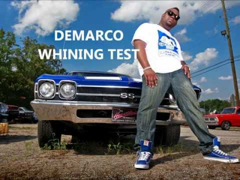 DEMARCO-WHINING TEST (December 2011)