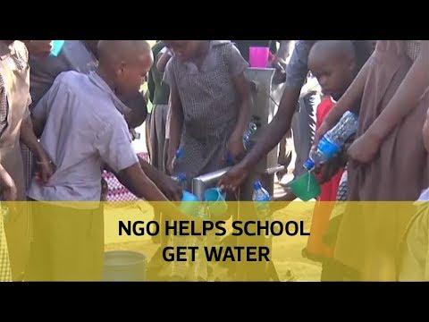 NGO helps school get water