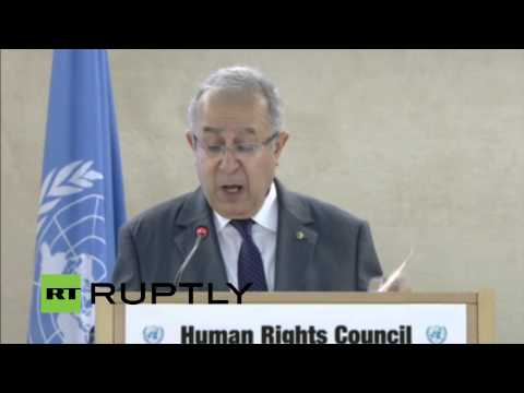 LIVE: UN Human Rights Council convenes in Geneva: Day 2