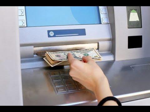 الحلقة 114 طريقة الايداع النقدي في الصراف الالي Atm للبنك الاهلي المصري