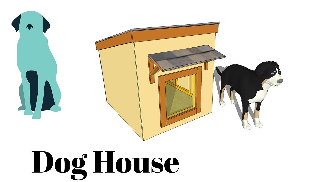 Free Dog House Plans - YouTube