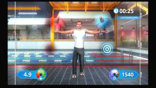 Cardio and Fitness Exercises - Playstation Move Fitness - PS3 Fitness