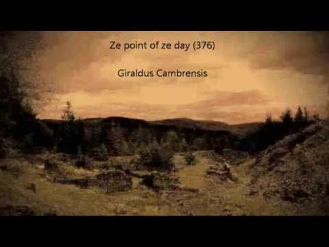Giraldus Cambrensis // ze point of ze day 376