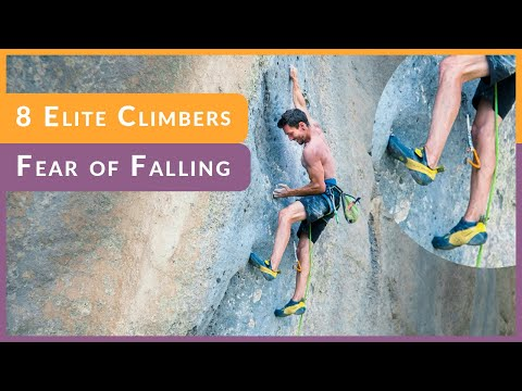Do Pro Climbers Have Fear of Falling? Stefano G, Dave G and others Share their Secrets.