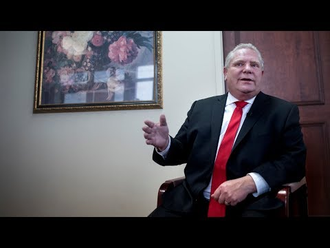 Doug Ford on his campaign plans as new leader of Ontario PC Party