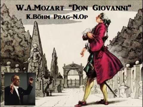 """W.A.Mozart """"Don Giovanni"""" [ K.Böhm Prag-N.Op ] (1967)"""