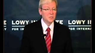 Climate change denialism and the challenges ahead. Kevin Rudd (p1)