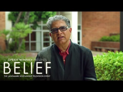 Deepak Chopra on the Fundamental Reality of the Universe | Belief | Oprah Winfrey Network