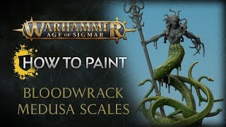 How to Paint: Bloodwrack Medusa Scales
