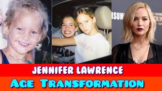 Jennifer Lawrence Age Transformation 2021