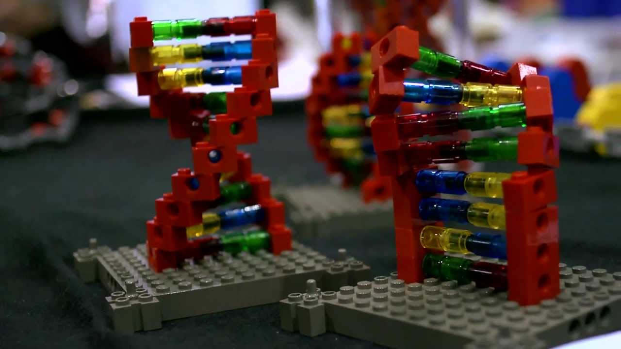 Building Molecular Models from Lego: DNA Makers - YouTube