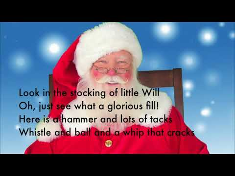 Up On The Housetop - With Lyrics - (Sing-Along) - YouTube