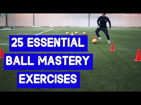 Improve Ball Control, Dribling And First Touch in SoccerFootball