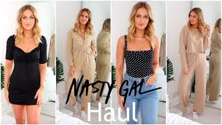 NASTY GAL HAUL & TRY ON